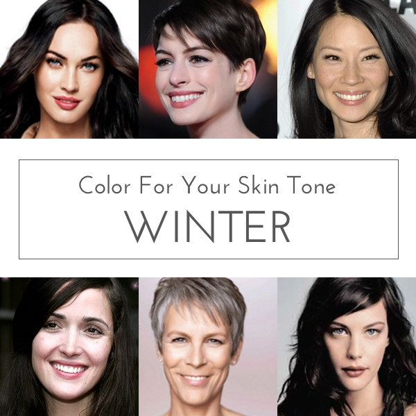 Color For Your Skin Tone: Winter