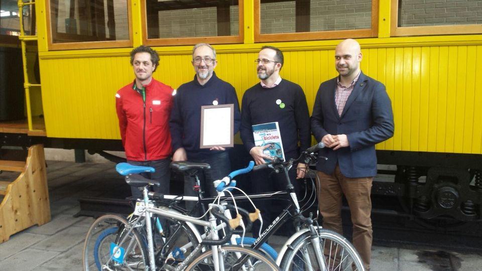 Foto Entrega XIII Premio ConBici a la Movilidad Sostenible en Gijón, 4 de Marzo de 2016 - 30 Días en Bici