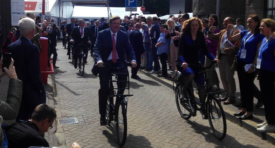 Foto Reyes Holanda en bici en Velo-City 2017 - 30 Días en Bici