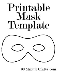 halloween templates masks