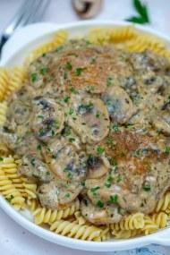 Cast Iron Chicken and Mushroom Recipe