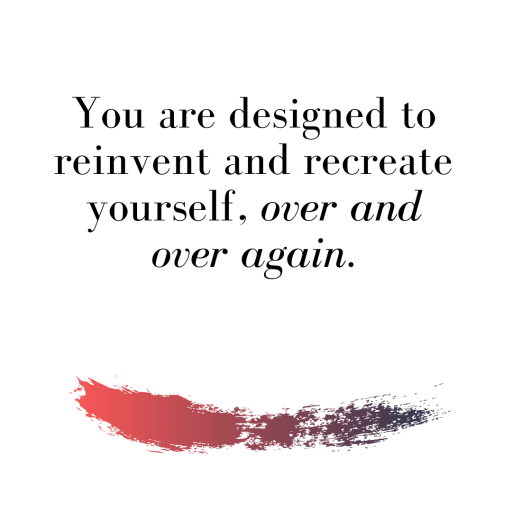 That Old Version Of You No Longer Exists - And That's Ok