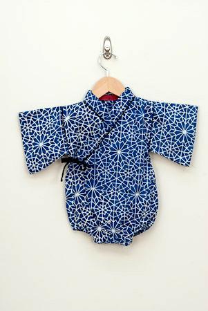 kimono kruippakje voor baby's