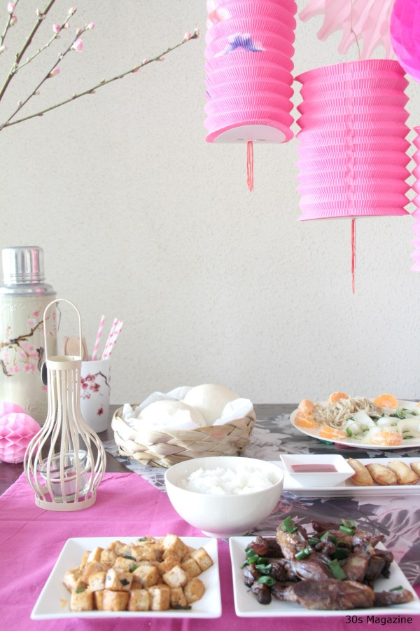 Chinese tablescape