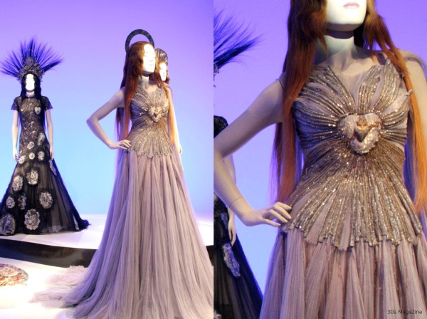 JP Gaultier pink dress