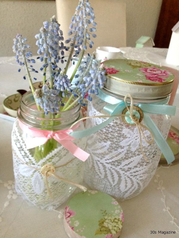 lace jars