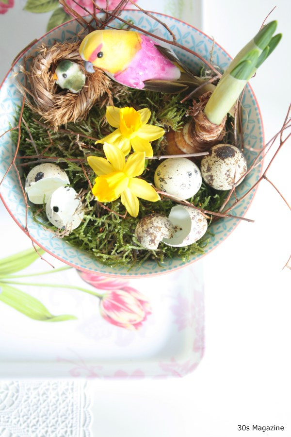 easter bowl deco