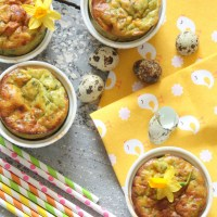 Easter Brunch recipe: Pesto Soufflé