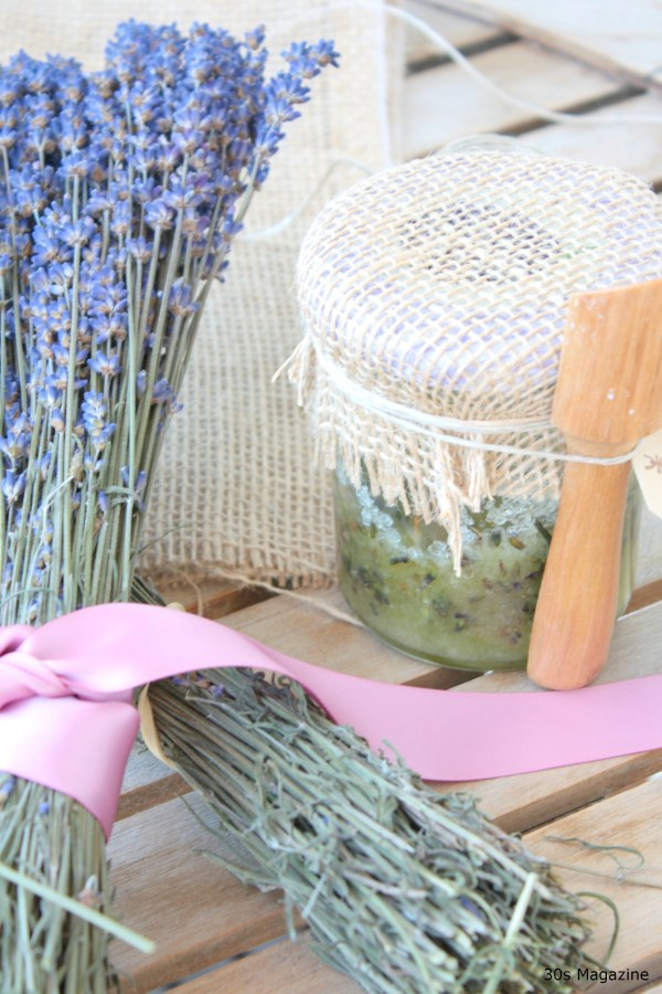 hostess gift lavender scrub