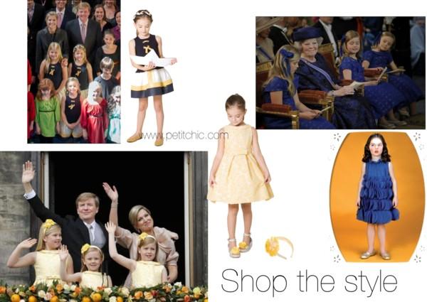 gele prinsessen jurkjes Pili Carrera