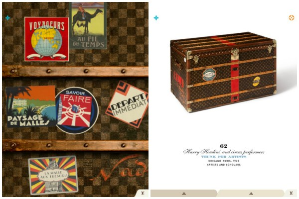 Louis Vuitton iPad app