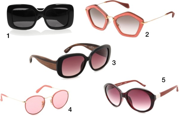 sunglasses trend