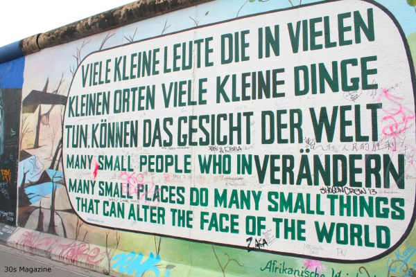 Berlin wall quote