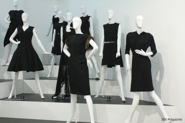 30s Magazine - Chanel - black dresses