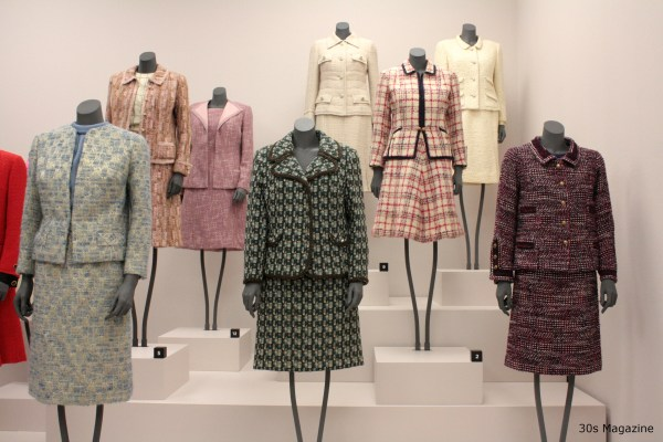 30s Magazine chanel vintage suits