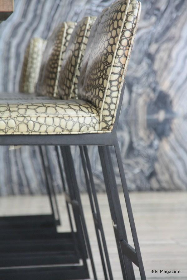 30s Magazine Viceroy Anguilla bar stools