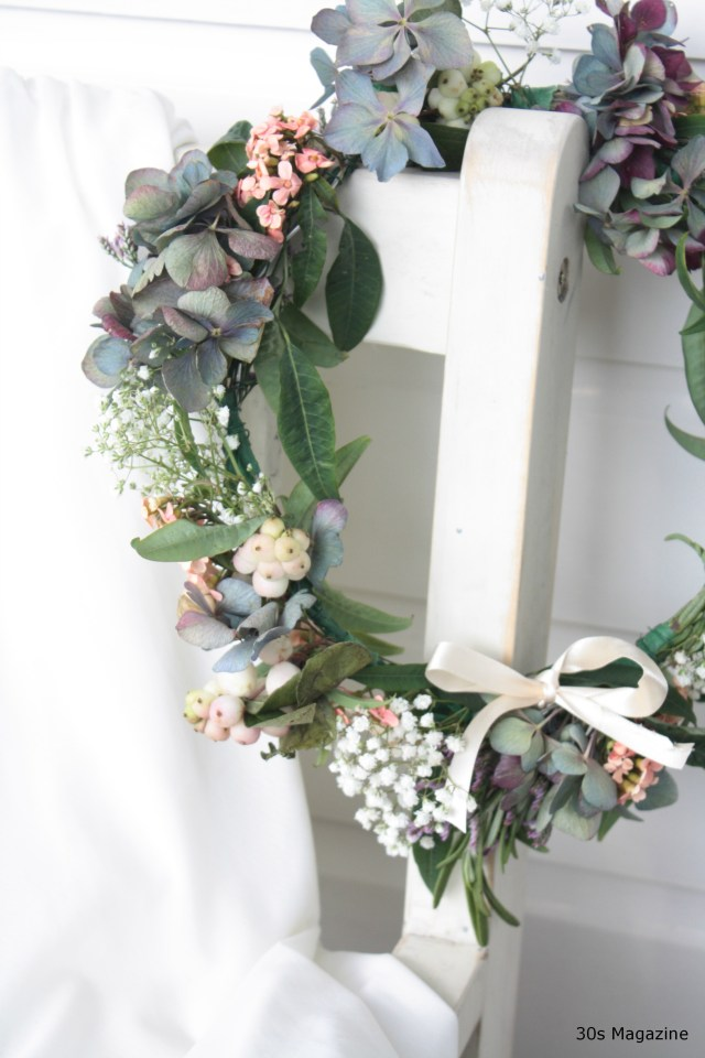 How to make your own Flower Wreath