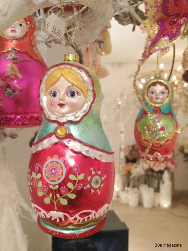 Matryoshka dolls bauble