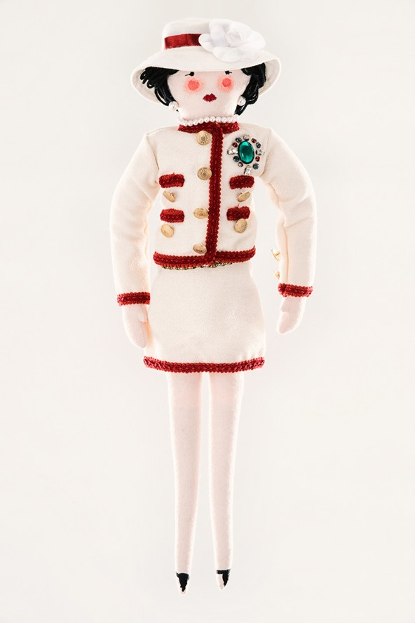 a doll Chanel-by-Karl-Lagerfeld-unicef-designer