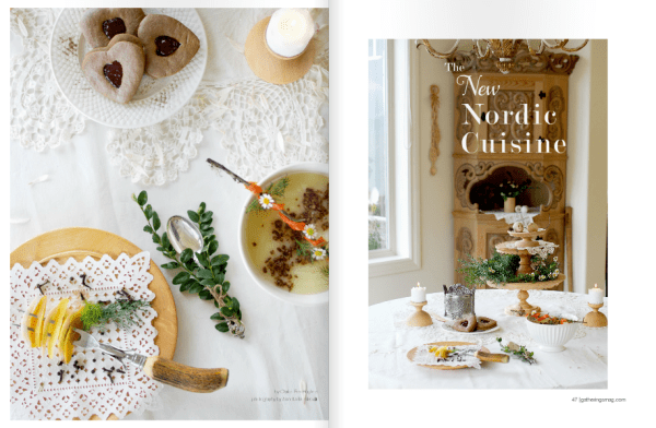 gatherings nordic cuisine