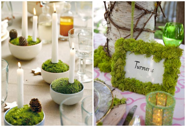 moss tablesetting