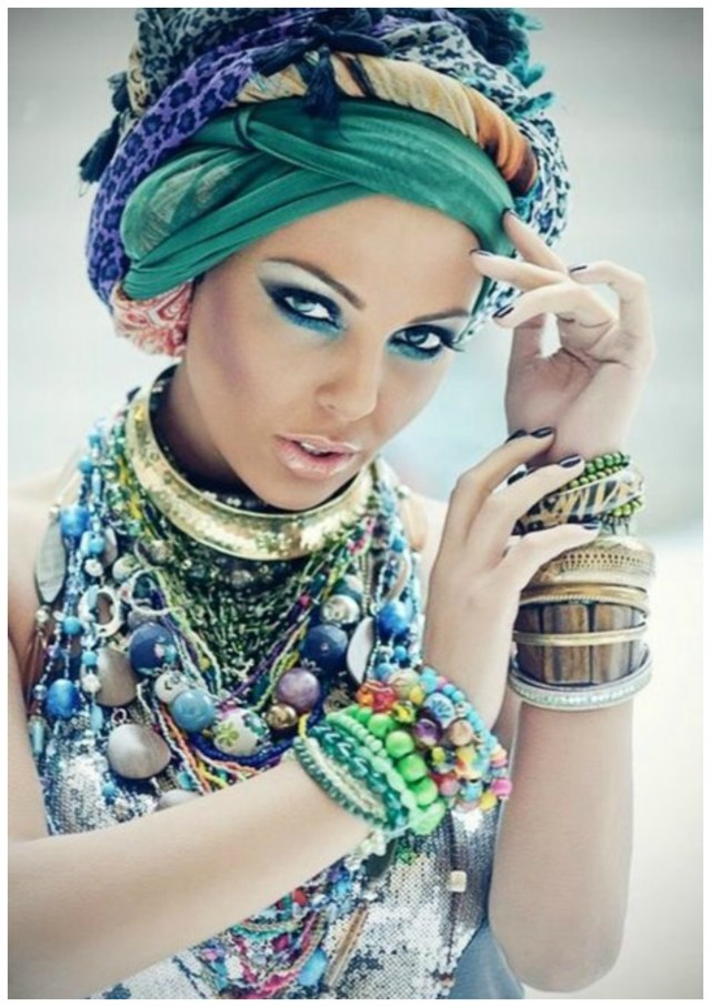 Trend: Turbans and Head Wraps