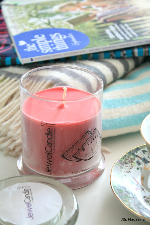 Slow Sunday with a scented Jewel Candle + Give-away