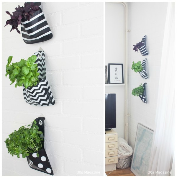 hanging plants - 30s magazine