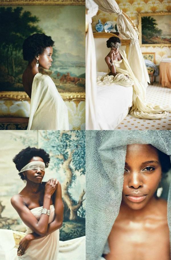 Pearl and Godiva bridal photoshoot