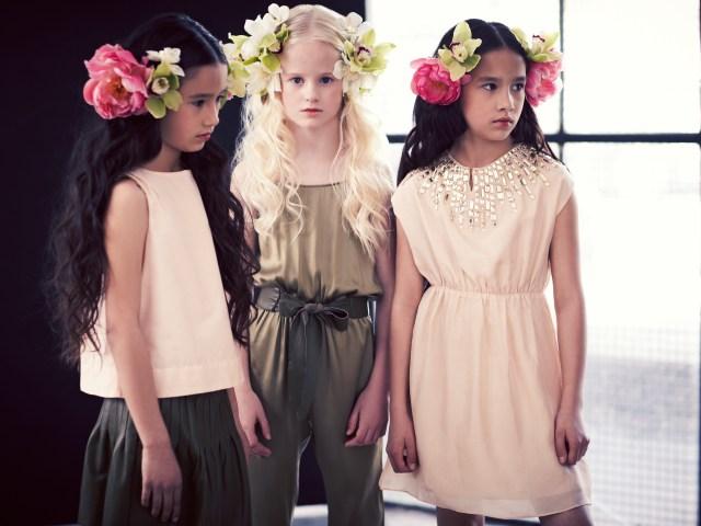Pale Cloud Girls' fashion