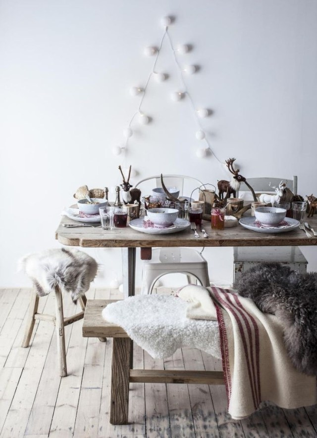Christmas Trend: A pared down Christmas decor