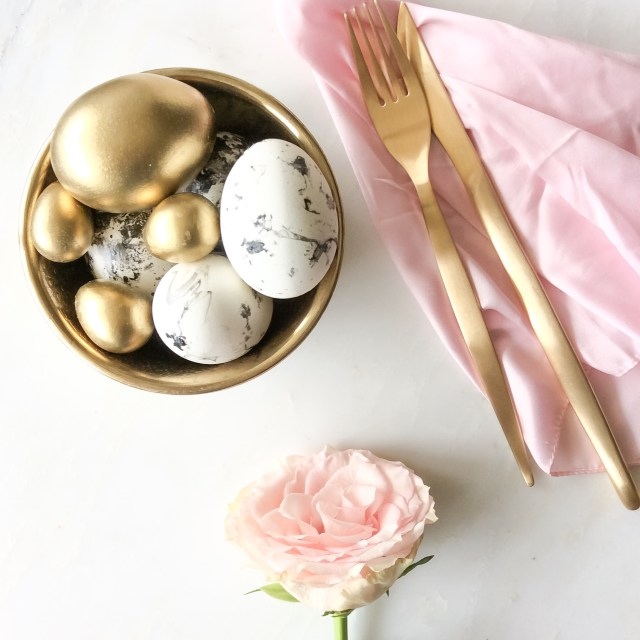 Last-minute Easter styling inspiration in the trend colors of 2016