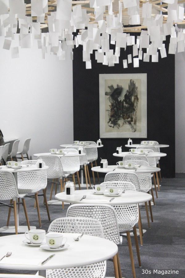 white restaurant
