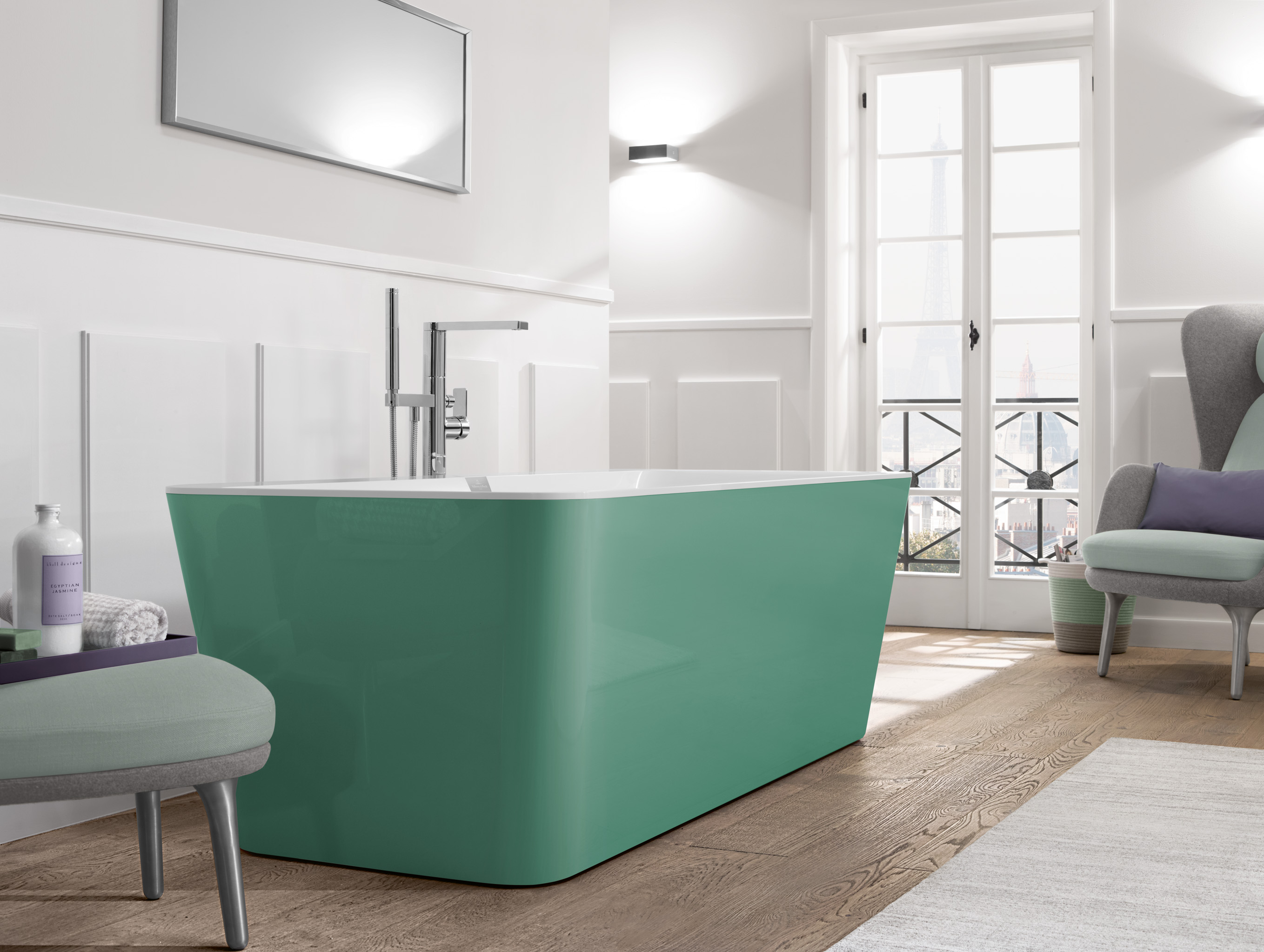 30s Magazine Inject Colourful Elegance In Your Bathroom With