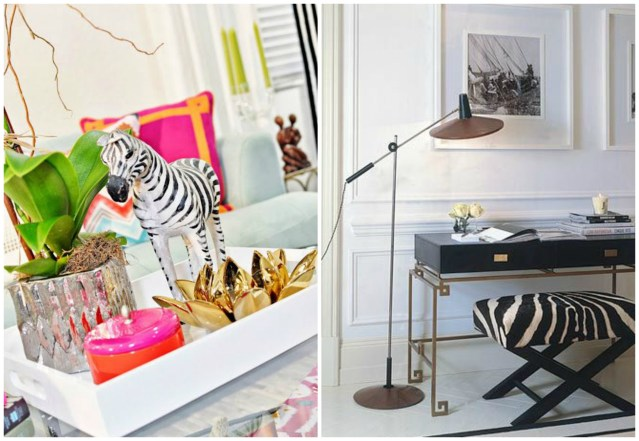 Trend: Zebras in home decor