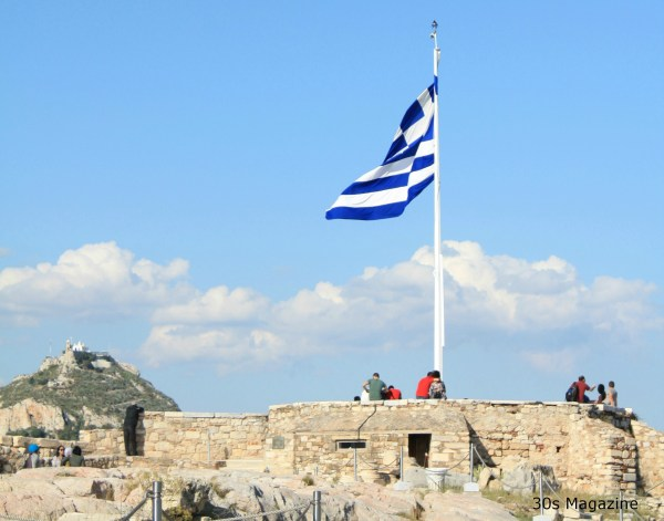 Greek flag 2