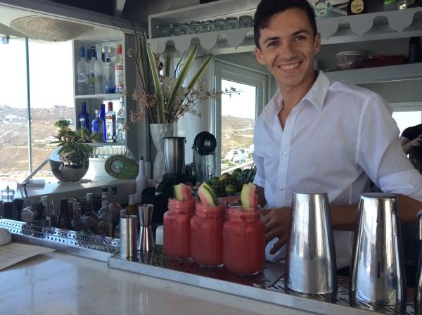 Nick the bartender