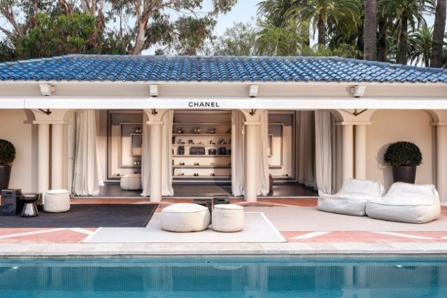 Inside the Chanel mansion in Saint Tropez