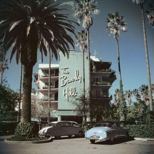 Slim Aaron - Beverly Hills Hotel 1957