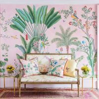 Wow Wallpaper: Aquazzura meets De Gournay