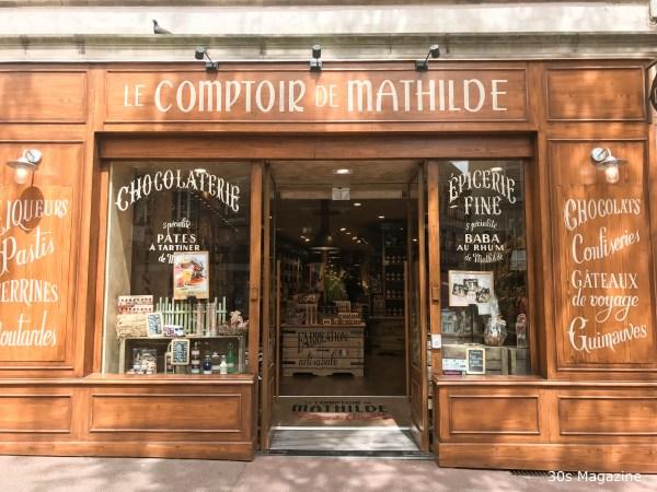 shop front in Colmar