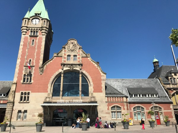Colmar train station