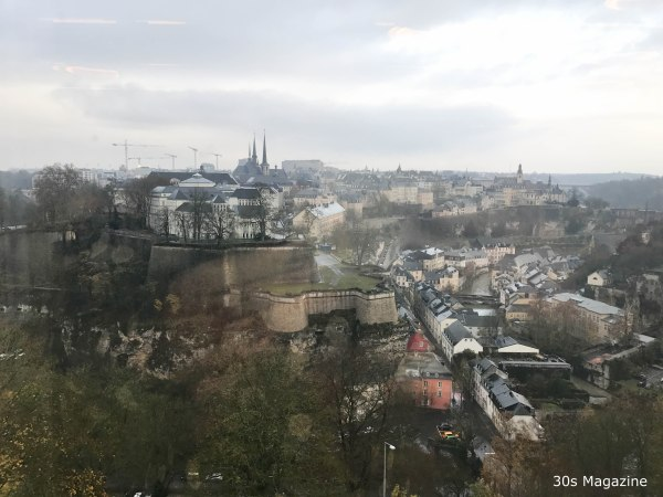 view from Le Grand Ducal in Luxembourg