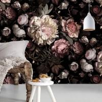 Trend: Floral wallpaper