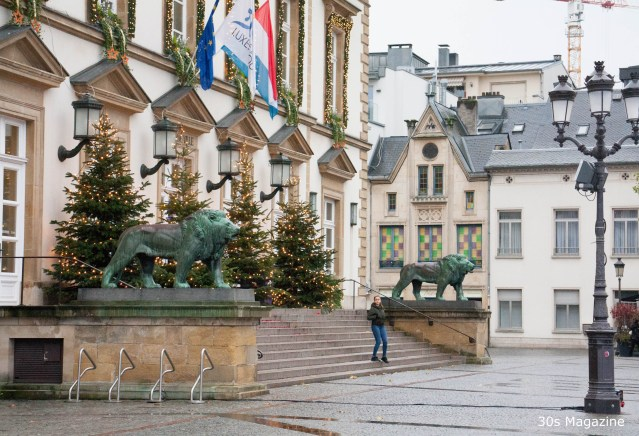 Christmas shopping & city trip to Luxembourg