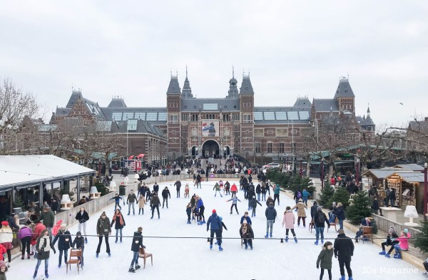 Ice skating rink Museumplein