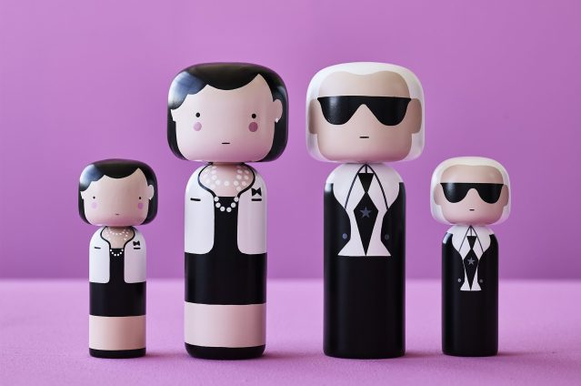 Gift idea: Kokeshi Dolls by Lucie Kaas
