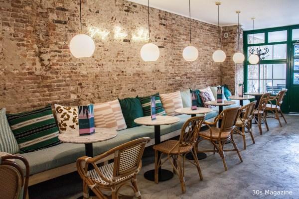 interior of Cafe Martinus Haarlem