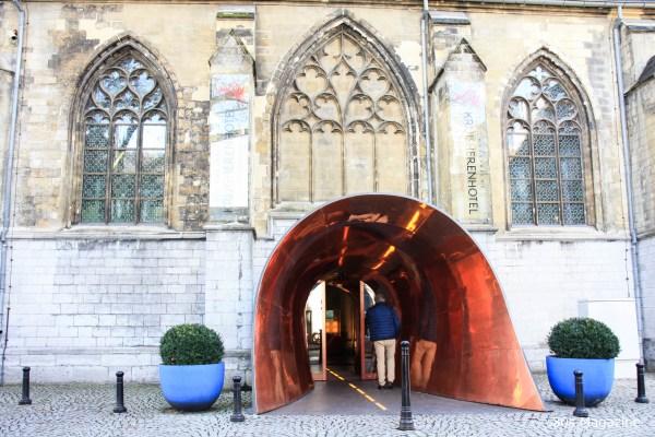 entrance Kruisherenhotel Maastricht