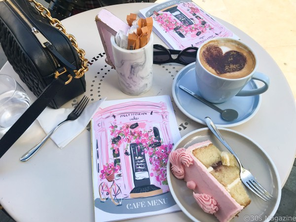 cake and coffee at Peggy Porschen